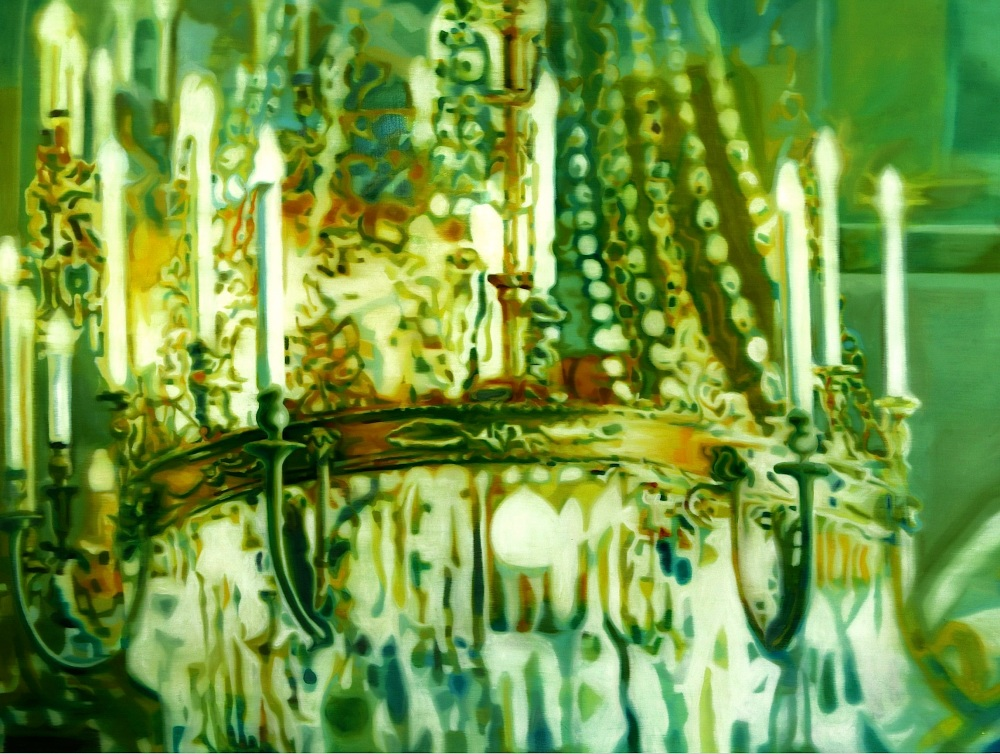 Chandelier Light | Oil on canvas | 112.1x145.5 cm | 2010