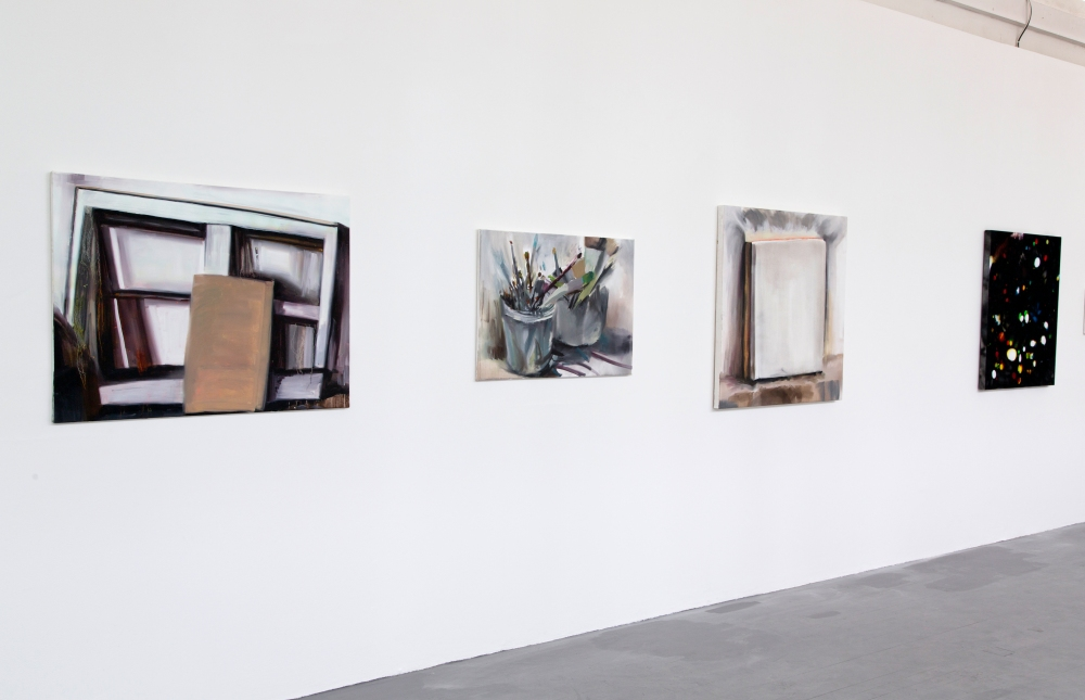 Installation view in Slade Show 2014.
